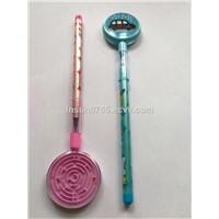 Insun Promotion Labyrinth Ballpen with Steel Ball, Maze Toy Gift, Children Cartoon Stationery