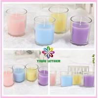 Long Burning Flameless Glass Jar Candles