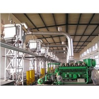 Generator Set Flue Gas Waste Heat Recovery Boiler for Corking Plant