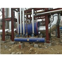 5000KW/15000KW HFO Generator Set Waste Heat Boiler Steam Boiler for Power Generating