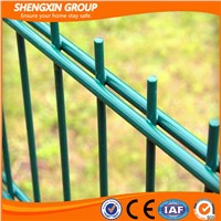 Green Powder Painting Double Wire Fence