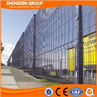 Galvanized PVC Coated Welded Wire Mesh Fence