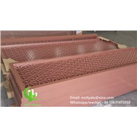 Aluminum Screen Panel Room Divider Laser Cutting Screen Perforated Screen with Frame
