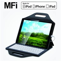MFI Wired Lightning Keyboard Case YBK-S0808A for IOS Systems