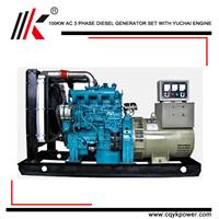 100KW DIESEL GENERATOR of DIESEL GENERATOR POWER PLANT MAKE ENERGE for VAN DE GRAAFF GENERATOR