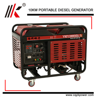 10KW POWER OPEN TYPE or CANOPY WATER COOLED DIESEL GENSET/BOAT MARINE ENGINE HOUSEHOLD GENSET DIESEL GENERATOR IN CHINA