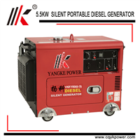 6KVA DIESEL GENERATOR for SALE with SINGLE CYLINDER GENERATOR HIGH RPM ALTERNATOR IN CHINA