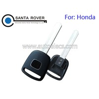 Hot Sale Transponder Key Shell Case for Honda CR-V Civic Element Pilot