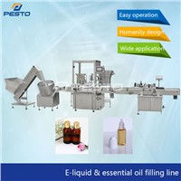 Automatic Bottle Filling Capping & Labeling Machine