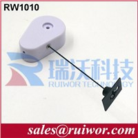 RW1010 Security Pull Box | Anti Shoplifting Steel, Spring Cable Retractors