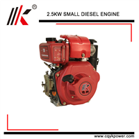 DIESEL GENERATOR 2.5KW/3.4HP AIR-COOLED SINGLE CYLINDER SMALL DIESEL ENGINE for SALE