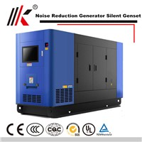 150KW NOISE REDUCTION GENERATOR SET with SHAGNCHAI SC7H230D2 DIESEL ENGINE SILENT GENSET IN CHINA POWER
