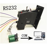 10 Channel Multi-Coin Acceptor/Selector with RS232 Communication