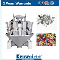 High Speed Multihead Weigher for Safety Pin Hardware Products