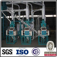 Small Scale 10 Ton Per Day Corn Flour Mill Machine