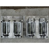 2 Caities Plastic Water Bottle Blowing Mould
