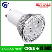 4w LED Spotlight Gu10