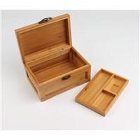 Bamboo Wooden Jewelry Box
