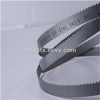 M42 HSS Bi-Metal Band Saw Blade for Cutting Carbon Steel Materials