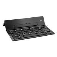 Plastic Folding Universal Bluetooth Keyboard with Kickstand SLBK-18B