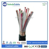 Control Cable with Copper Wire Braided Screen