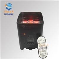 New Arrival Hex Core 6pcs*18W 6in1 RGBAW UV Battery Operated Wireless LED Par Light APP Mobile LED Uplight