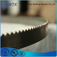 Tungsten Carbide Band Saw Blade for Metal Cutting
