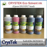 Crystek Eco Solvent Ink for Epson Print Head