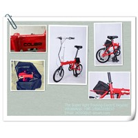 Customized Electric Folding Bikes e Bike Folding Electric Bicycle
