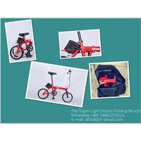 Light Weight Folding Ebikes Electric Folding Bike Folding Electric Bike
