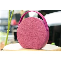 High Quality Fabric Hands Free Mini Bluetooth Speakers for iPhone