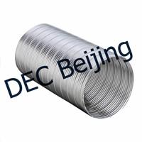 China Suppliers Fire Proof Aluminum Flexible Duct 6 Inch Semi Rigid Flexible Aluminum Duct