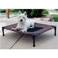 Steel Framed Portable Elevated Pet Cot Dog Bed Four Size