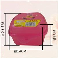 KH W034 Plastic Lunch Bento Box Food Storage Container