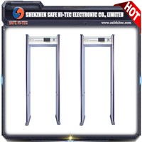 SA300C Multizone Walk through Metal Detector Door