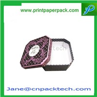 Christmas OEM New Design Paper Gift Packaging Lid Paper Chocolate Box