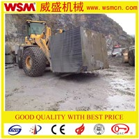 52 Tons the Biggest Wheel Loader in China for Block Handler