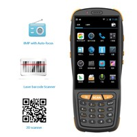 "4"" Touch Screen Handheld Barcode Scanner PDA with NFC/RFID/3G"