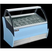 Hot Sale Commercial Ice Cream Showcase R404a Refrigerant Ice CreamCream Display Freezer FMX-SP200A
