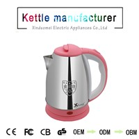 High Quality 304 Stainless Steel Electric Travel Water Kettle 1.5L