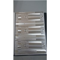 Holographic Pattern Silver Paperboard