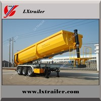3 Axle Steel Tipping Tipper Semi Trailer Dump Trailer