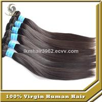 Unprocessed Brazilian Virgin Human Hair Weave Extension Straight Hair Bundles