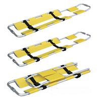 4A Aluminum Alloy Shovel Stretcher Ambulance Retractable Medical Folding Stretcher