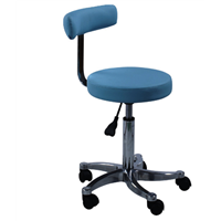Color Doppler Ultrasound Physician Chair Aluminum Alloy Pneumatic Lifting Chair Nursing Chair