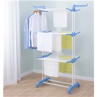 General Use Three Layer Clothes Rack
