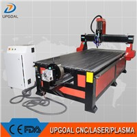 4*8 Feet 4 Axis Wood CNC Router with Underneath Rotary Axis UG-1325