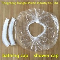 Shower Cap Bathing Cap Plastic PE Waterproof Made In China