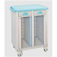 Hospital Cart for Medical Record Holder Trolley