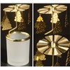Rotated Blank Glass Tea Light Candle Holder
